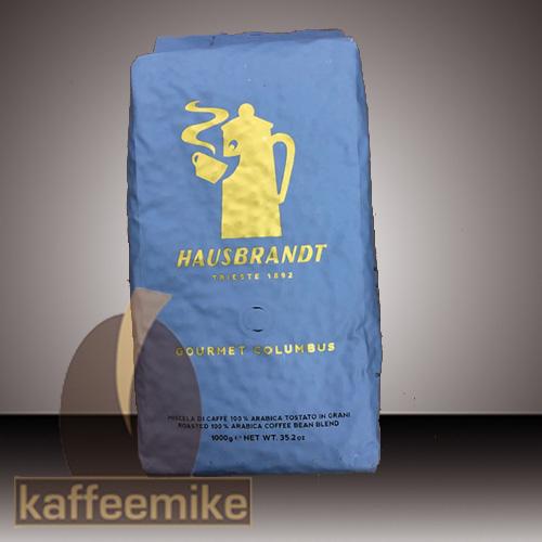 Hausbrandt Gourmet Columbus Espresso Kaffee 1000g Bohne