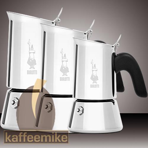 Bialetti Venus Elegance Espressokocher aus Edelstahl 6 Tassen