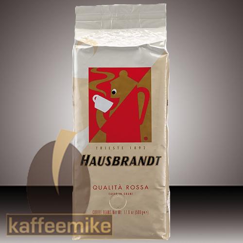 Hausbrandt Rossa Kaffee Espresso 500g Bohnen