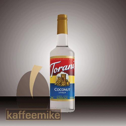 Torani Sirup Coconut zuckerfrei 0,75l Flasche