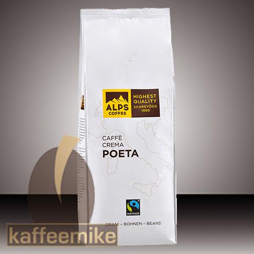 Alps Coffee Schreyoegg Poeta Fairtrade - 1000g Bohnen