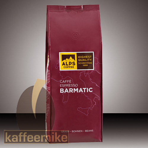 Alps Coffee Schreyoegg Caffe Barmatic Espresso Kaffee - 1000g Bo