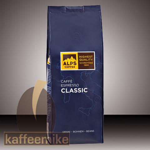 Alps Coffee Schreyoegg Classic Espresso Kaffee - 1000g Bohnen