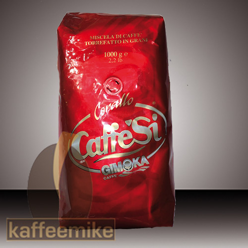CaffeSi Kaffee Espresso - Corallo, 1000g Bohnen