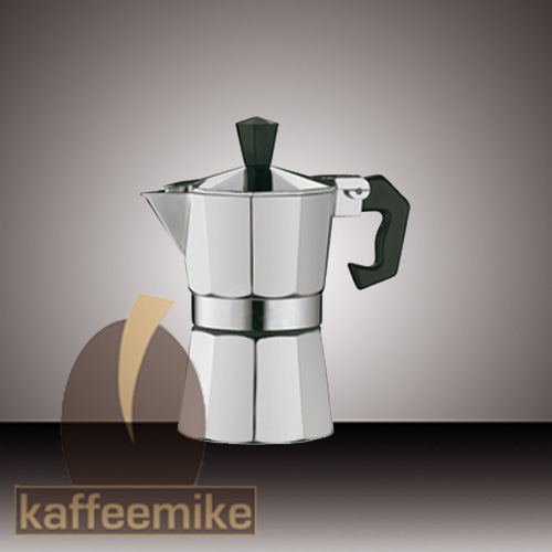 Cilio Classico 3 Tassen silber Espressokocher
