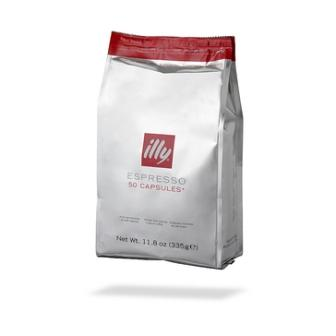 Illy 50 HES Kapseln Metodo Iperespresso Espresso Roestung N