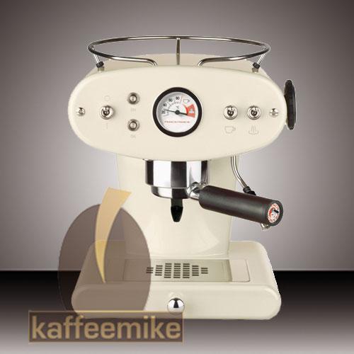 Illy Francis Francis X1 Ground Mandelbeige, Espressogeräte & Reiniger