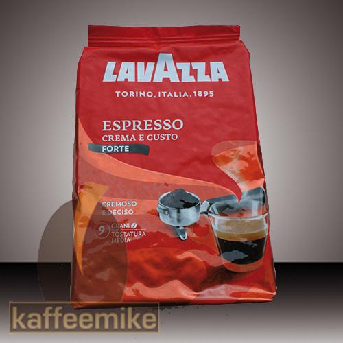 ! Lavazza Crema e Gusto Forte Espresso Kaffee 1000g