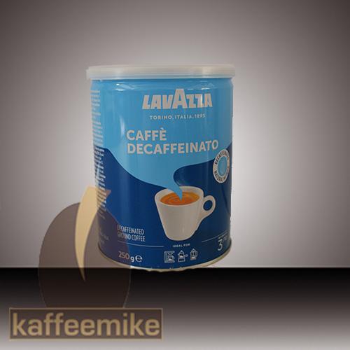 Lavazza DEK Entkoffeiniert Espresso Kaffee 250g Dose gemahlen