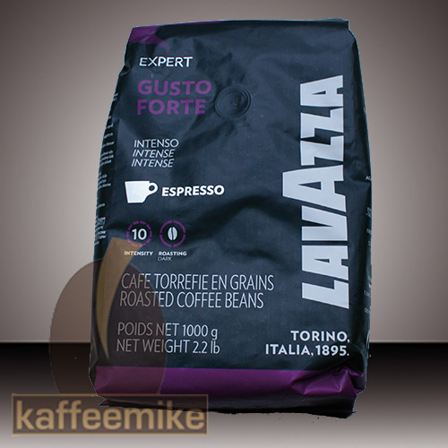 Lavazza Espresso Gusto Forte Vending 1000g Bohnen