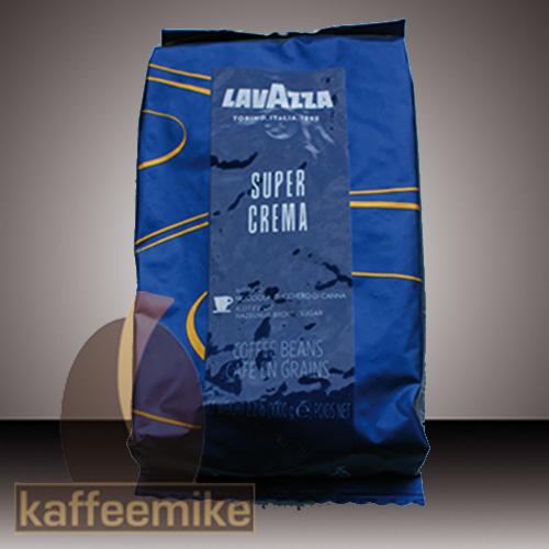 ! Lavazza Super Crema Espresso Kaffee 1000g Bohnen