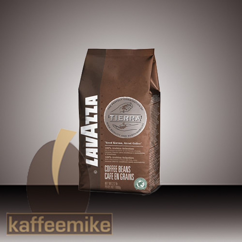 ! Lavazza Fair Trade Tierra  Espresso Kaffee 1000g Bohnen