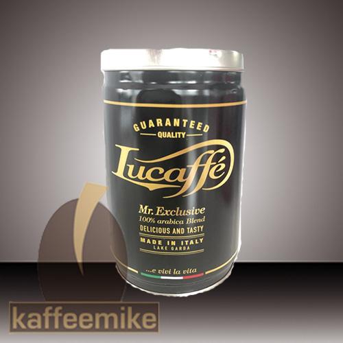 Lucaffe Mr. Exclusive 100% Arabica 250g Bohne