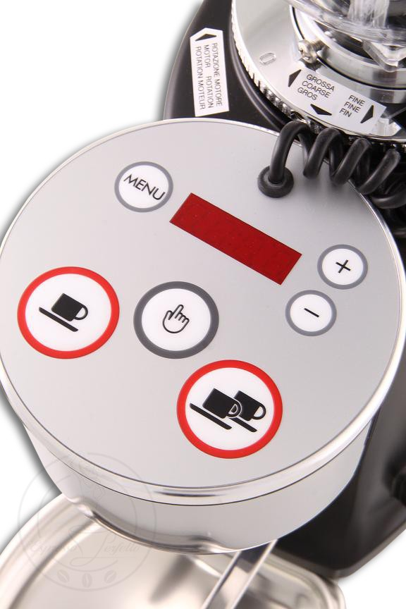 Mazzer Mini Elektronik A Schwarz DIGITAL, Mühlen & Schubladen