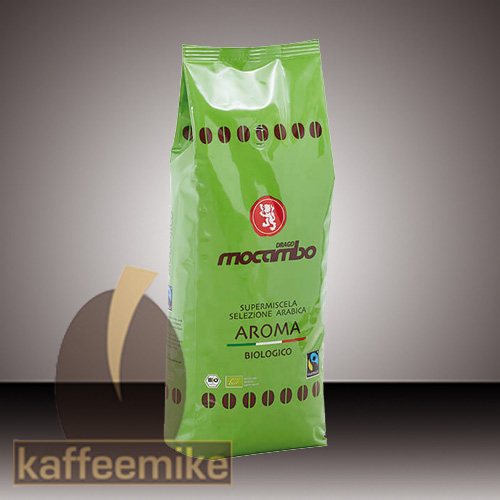 Mocambo Caffe Aroma Bio Fairtrade Espresso Kaffee 1000g Bohne