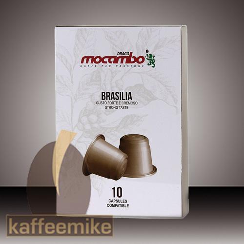 Mocambo Brasilia Nespresso kompatibel 10 Kapseln je 5g