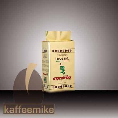 Mocambo Caffe Gran Bar Selizione Oro Espresso Kaffee 250g gem