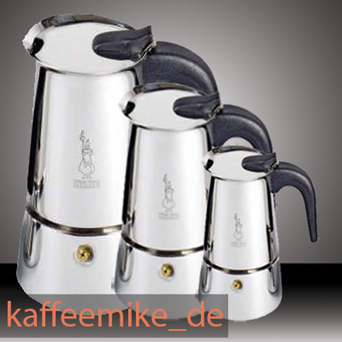 bialetti musa elegance espressokocher induktion aus edelstahl 6 espressokocher. Black Bedroom Furniture Sets. Home Design Ideas