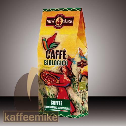 New York BIO Espresso 100% Arabica 250g Bohnen