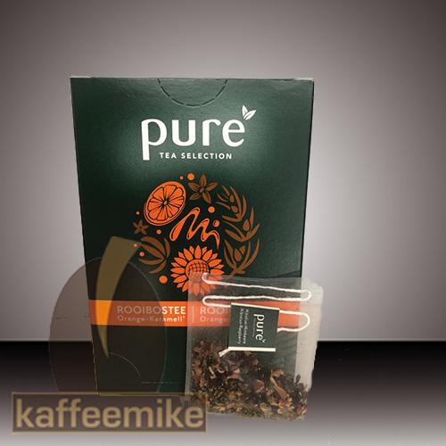 Pure Tee Rooibos Orange und Karamell Selection Tea 25x3g