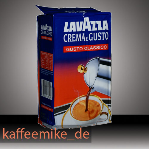 lavazza crema e gusto espresso kaffee 250g gemahlen kaffee espresso. Black Bedroom Furniture Sets. Home Design Ideas