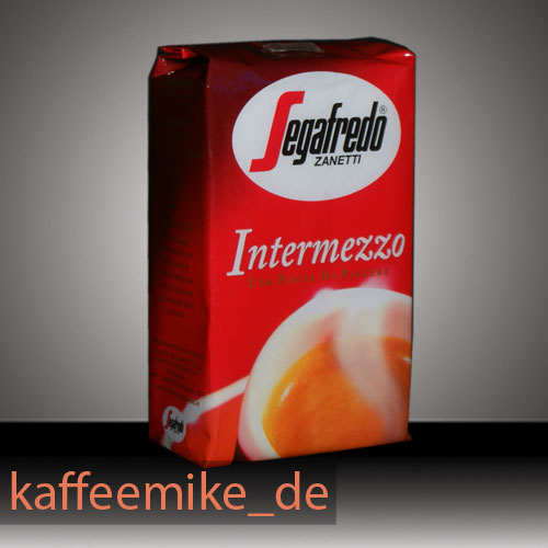 segafredo intermezzo espresso kaffee 250g gemahlen kaffee. Black Bedroom Furniture Sets. Home Design Ideas