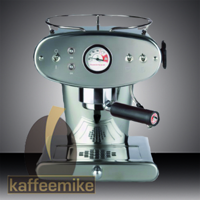 Illy Francis Francis X1 Ground Edelstahl, Espressogeräte & Reiniger